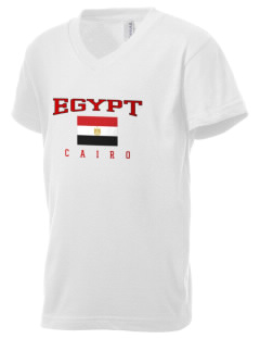 Egypt Kid's V-Neck Jersey T-Shirt