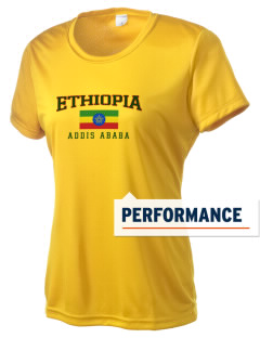Ethiopia Women's Competitor Performance T-Shirt