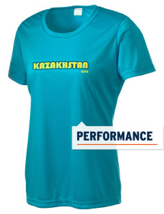 Kazakhstan Women's Competitor Performance T-Shirt
