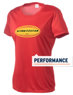 Kyrgyzstan Women's Competitor Performance T-Shirt