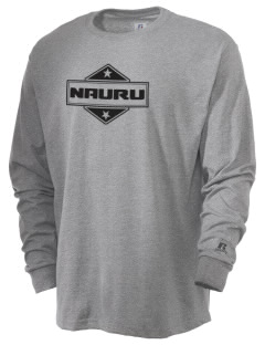Nauru  Russell Men's Long Sleeve T-Shirt