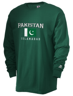 Pakistan  Russell Men's Long Sleeve T-Shirt