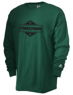 Tanzania  Russell Men's Long Sleeve T-Shirt