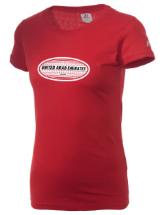 United Arab Emirates  Russell Women's Campus T-Shirt