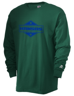 Kansas  Russell Men's Long Sleeve T-Shirt