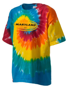 Maryland Kid's Tie-Dye T-Shirt