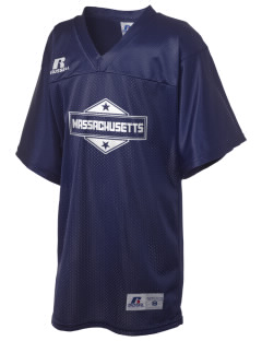 Massachusetts Russell Kid's Replica Football Jersey