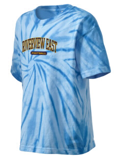 Riverview East Academy Hawks Kid's Tie-Dye T-Shirt