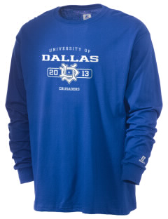 University of Dallas Crusaders  Russell Men's Long Sleeve T-Shirt