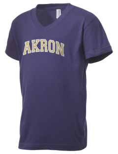 The University of Akron Zips Kid's V-Neck Jersey T-Shirt