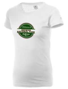 Redwood National Park  Russell Women's Campus T-Shirt