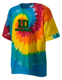 Minidoka National Historic Site Kid's Tie-Dye T-Shirt