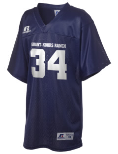 Grant-Kohrs Ranch National Historic Site Russell Kid's Replica Football Jersey