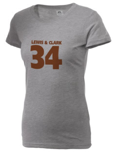 Lewis & Clark National Historic Trail  Russell Women's Campus T-Shirt