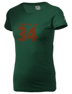Santa Fe National Historic Trail  Russell Women's Campus T-Shirt