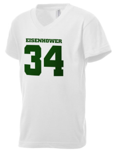 Eisenhower National Historic Site Kid's V-Neck Jersey T-Shirt