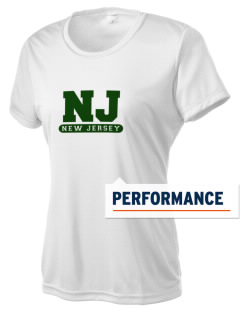 New Jersey Coastal Heritage Trail Route Women's Competitor Performance T-Shirt