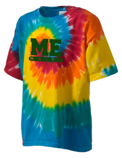 Saint Croix Island International Historic Site Kid's Tie-Dye T-Shirt