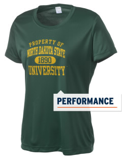 North Dakota State University Bison Women's Competitor Performance T-Shirt