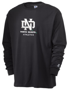 University of North Dakota Athletics  Russell Men's Long Sleeve T-Shirt