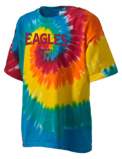 American University Eagles Kid's Tie-Dye T-Shirt