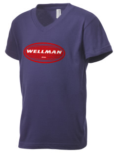 Wellman Kid's V-Neck Jersey T-Shirt