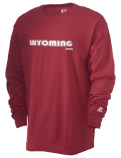 Wyoming  Russell Men's Long Sleeve T-Shirt