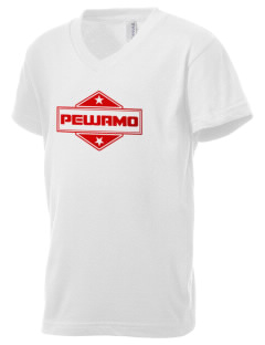 Pewamo Kid's V-Neck Jersey T-Shirt