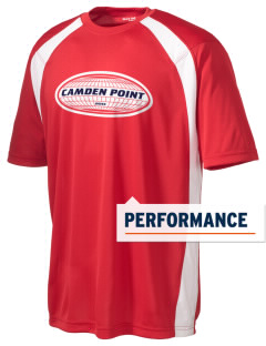 Camden Point Men's Dry Zone Colorblock T-Shirt
