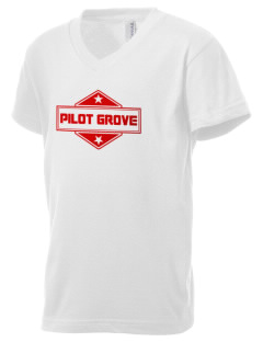 Pilot Grove Kid's V-Neck Jersey T-Shirt
