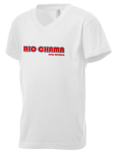 Rio Chama Kid's V-Neck Jersey T-Shirt