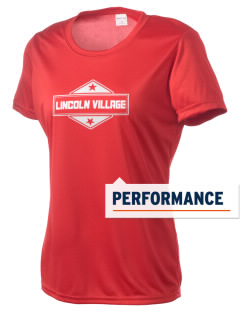 Lincoln Village Women's Competitor Performance T-Shirt