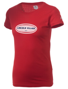 Lincoln Village  Russell Women's Campus T-Shirt