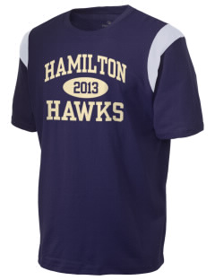 Hamilton Elementary School Hawks Holloway Men's Rush T-Shirt