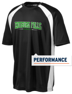 Enosburg Falls Middle High School Hornets Men's Dry Zone Colorblock T-Shirt
