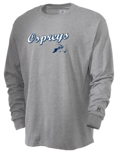 University of North Florida Ospreys  Russell Men's Long Sleeve T-Shirt