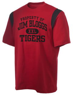 Jim Bloggs School Tigers Holloway Men's Rush T-Shirt