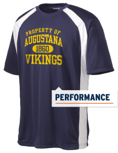 Augustana College Vikings Men's Dry Zone Colorblock T-Shirt