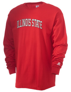 Illinois State University Redbirds  Russell Men's Long Sleeve T-Shirt
