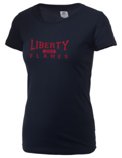 Liberty University Flames  Russell Women's Campus T-Shirt