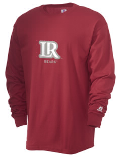 Lenoir-Rhyne University Bears  Russell Men's Long Sleeve T-Shirt