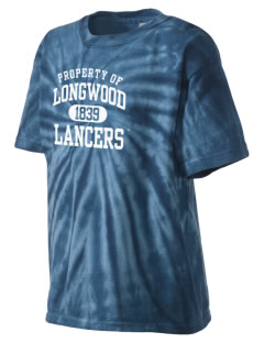 Longwood University Lancers Kid's Tie-Dye T-Shirt