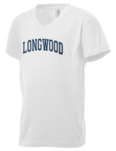 Longwood University Lancers Kid's V-Neck Jersey T-Shirt