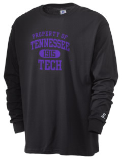 Tennessee Technological University Golden Eagles  Russell Men's Long Sleeve T-Shirt