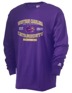 Western Carolina University Catamounts  Russell Men's Long Sleeve T-Shirt