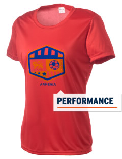 Armenia Soccer Women's Competitor Performance T-Shirt