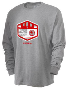 Austria Soccer  Russell Men's Long Sleeve T-Shirt