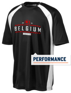Belgium Soccer Men's Dry Zone Colorblock T-Shirt