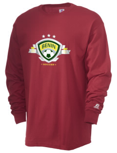 Benin Soccer  Russell Men's Long Sleeve T-Shirt
