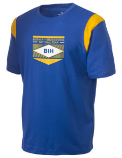Bosnia-Herzegovina Soccer Holloway Men's Rush T-Shirt